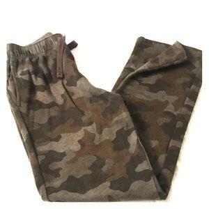 Camo Sweat  pants boys